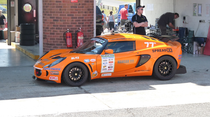 MacG Racing Lotus Exige Brands Hatch