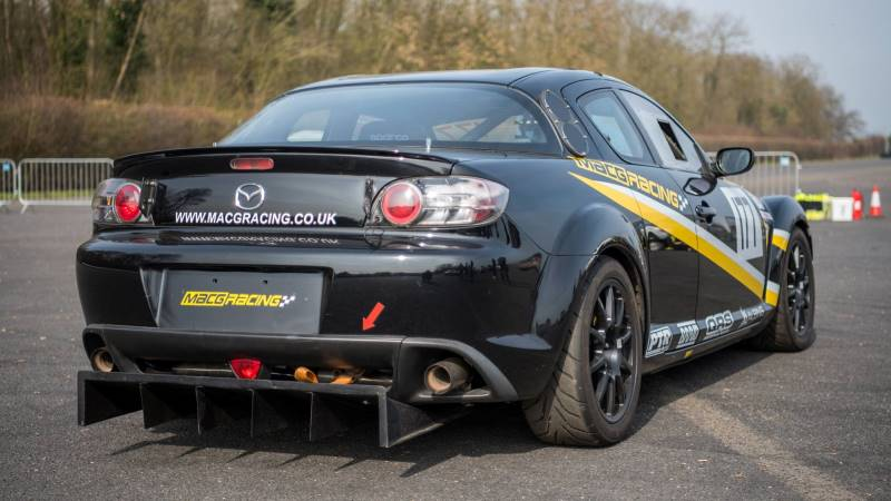 MacG Racing Mazda RX8 Race Car