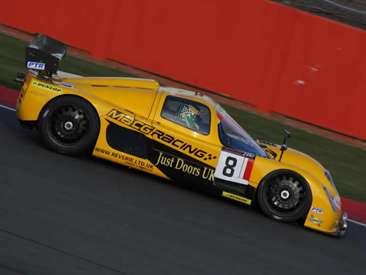MacG Racing Ultima GTR at Silverstone 24hr