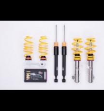 KW V1 Coilovers for AUDI S2 (89Q) Coupé 4WD screw M14 FA+RA-susp strut 09/90-12/96