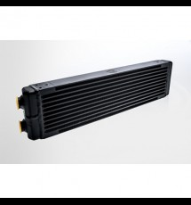 Universal Dual-Pass Oil Cooler w/ Direct Fitment for Porsche 911 center front oil cooler (RS Style) - M22 x 1.5 connections