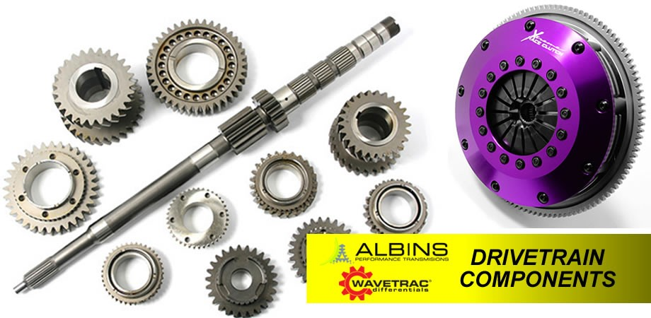Drivetrain Parts by MacG Racing