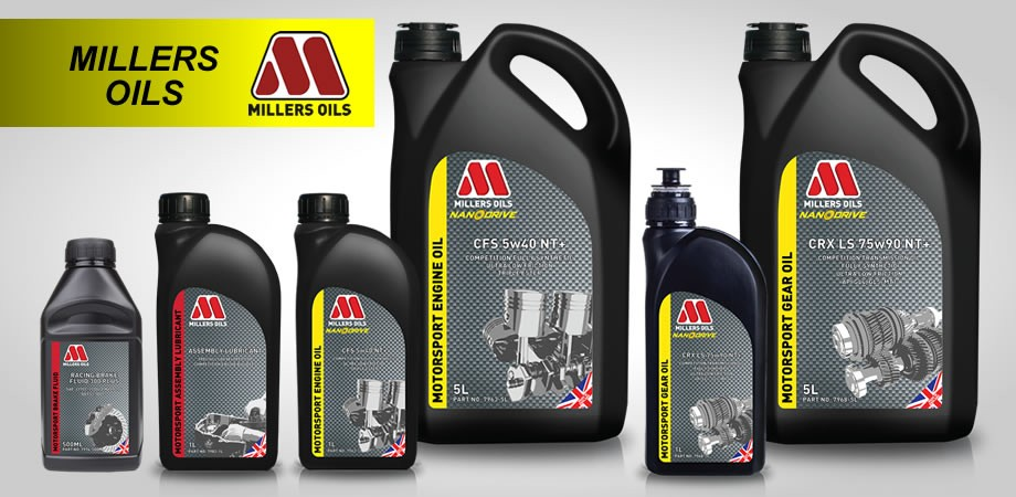 Millers Oils by MacG Racing
